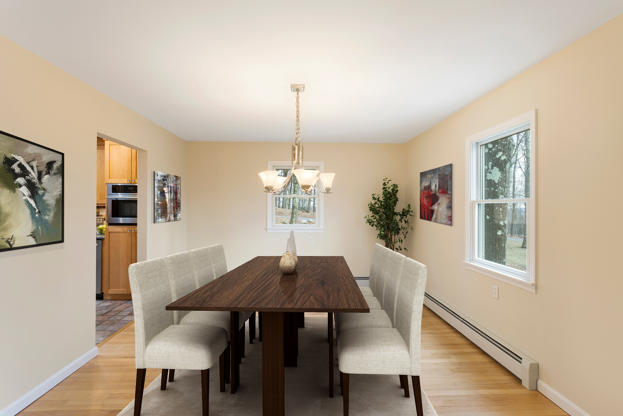 03 5 Lenore Road Tewksbury Township — Dining Room Virtually Staged