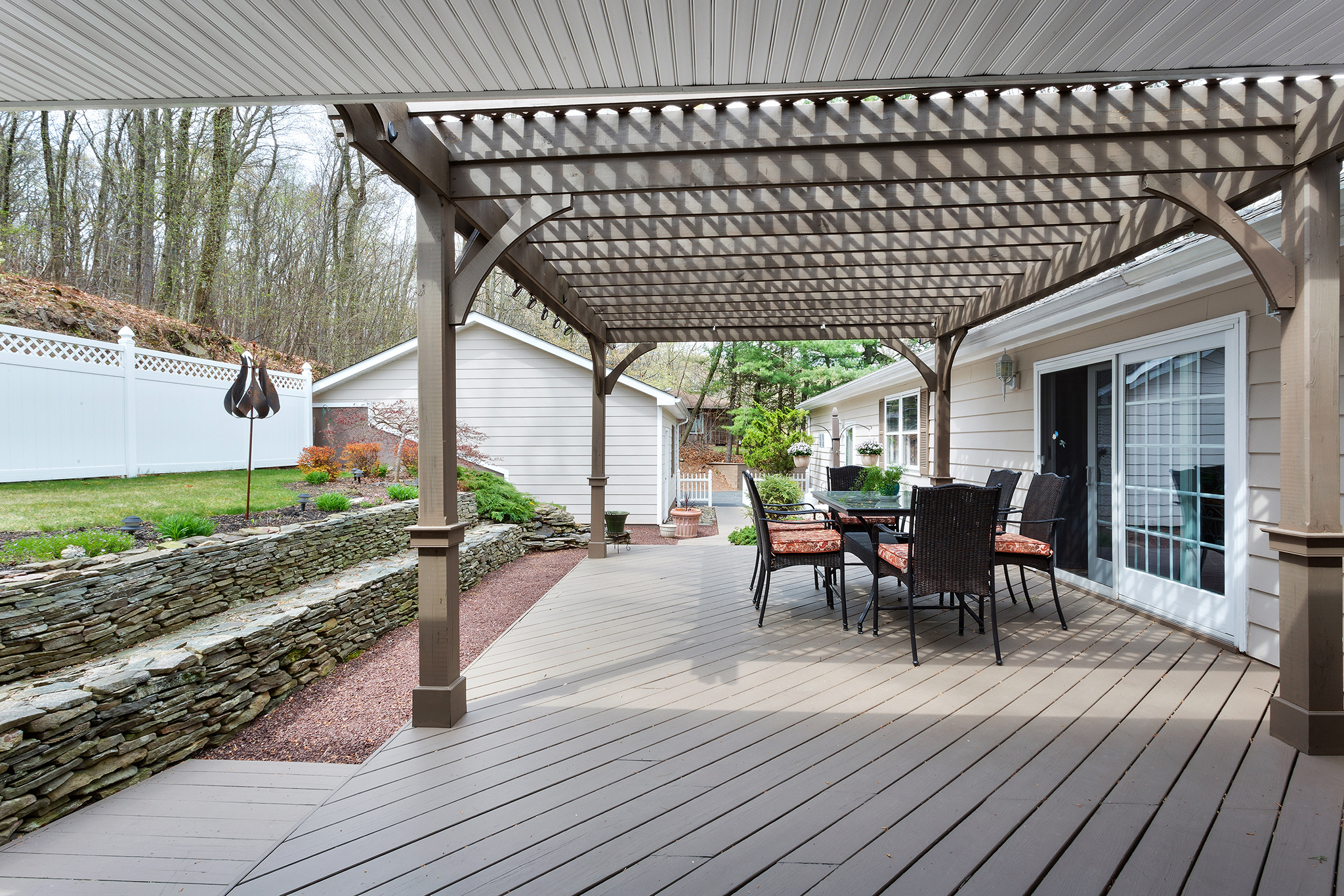 19 32 Spring Hill Rd, Franklin Township — Deck