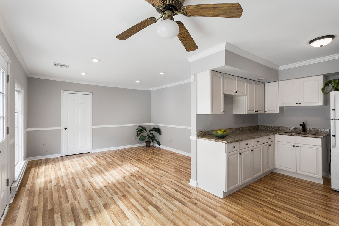 13 11 Sutton Road Tewksbury Township — Au Pair Suite Kitchen and Living Room