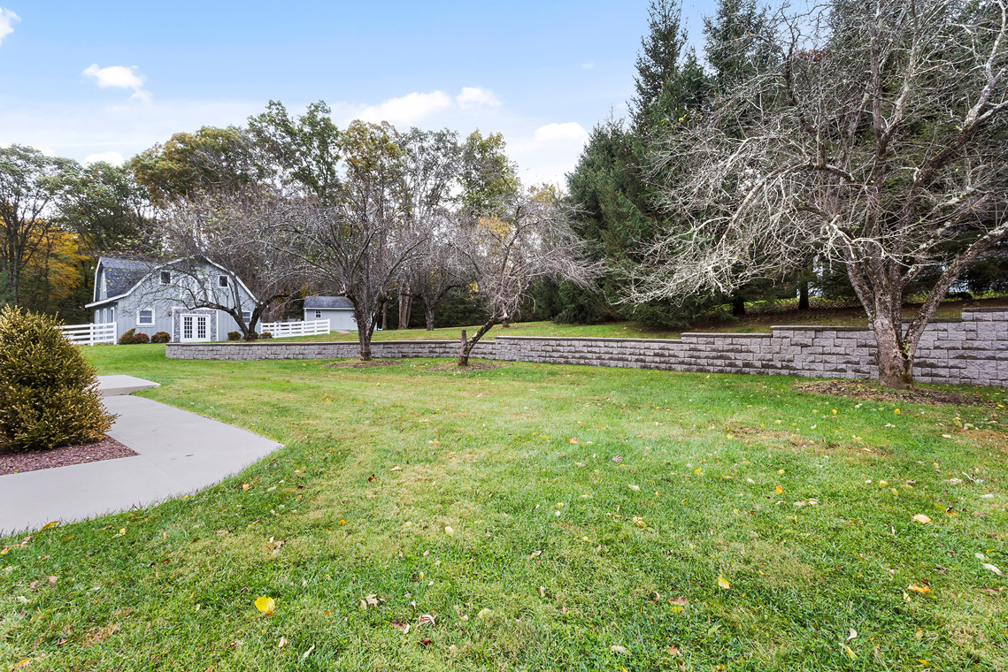 24 11 Sutton Road Tewksbury Township — Backyard View from House